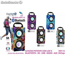 Altavoz Bluetooth Digivolt Hifi-13