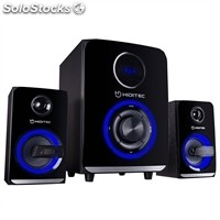 Altavoz Bluetooth hiditec H500 2.1 50W usb/sd negro