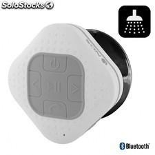 Altavoz bluetooth NGS gray roller sprinkle - resistente al agua - 3w - alcance