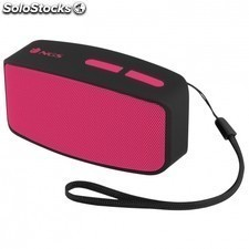 Altavoz bluetooth NGS pink roller fun -3w - alcance 10m - func. manos libres -