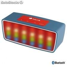 Altavoz bluetooth ngs roller glow blue - 3W - alcance 10M - func. Manos libres -
