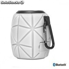 Altavoz bluetooth NGS white roller pineAPPLE - resistente al agua - 3w -
