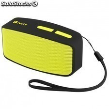 Altavoz bluetooth NGS yellow roller fun - 3w - alc. 10m - func. manos libres -