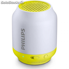 Altavoz Bluetooth philips BT50L/00 2W amarillo