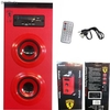 Altavoz Bluetooth Portátil bateria recargable MP3 Radio FM usb sd aux Rojo