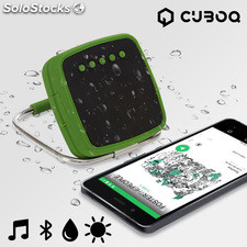 Altavoz Bluetooth Portátil CuboQ Solar Power
