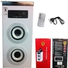 Altavoz Bluetooth portatil Portátil hifi MP3 / Radio FM / usb / sd / aux Blanco