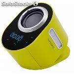 Altavoz bluetooth portátil sunstech 222847 3W super bass amarillo