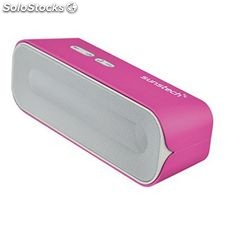 Altavoz Bluetooth Portátil Sunstech SPUBT770 6 W Rosa