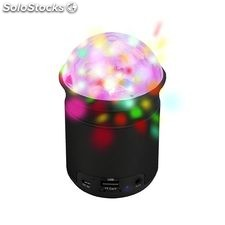 Altavoz bluetooth Woxter Partybeat Bt-26 black Wx930 c/luces de colores