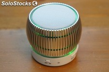 Altavoz digital blanco bluetooth FM venturi usb MicroSD MP3 manos libres