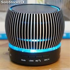 Altavoz digital negro bluetooth FM venturi usb MicroSD MP3 portatil manos libres