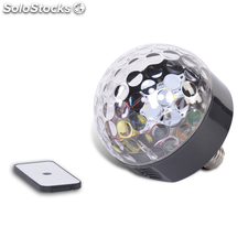 Altavoz Disco Bluetooth, bombillas LED y mando Party Fun Light