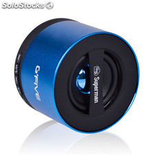 Altavoz Gfive soundbox little superman 2, bluetooth, Micro sd, Azul