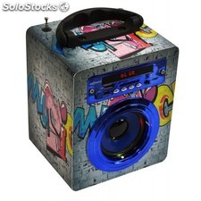 Altavoz Go Rock GR-WS21 Graffitis Music