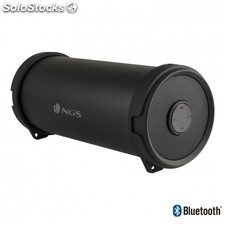 Altavoz inalámbrico ngs roller flow mini - bluetooth - 10W - radio FM - aux in -