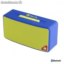Altavoz inalambrico ngs roller joy blue - bluetooth - 3W - radio FM - usb -