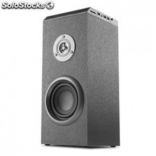 Altavoz inalambrico NGS tube - bluetooth - 40w (20w rms) - alcance 10m - aux