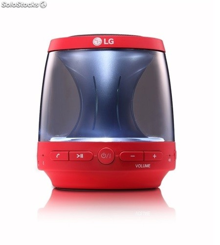 Altavoz lg PH1R Rojo Bluetooth led Multicolor