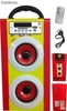 Altavoz Multimedia l-80 España Portatil hifi MP3 / Radio FM / usb / sd / aux