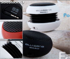 Altavoz portatil color blanco mod. Beeblu-bp