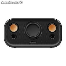 Altavoz portátil X-mini CLEAR Bluetooth NFC Capsule Speaker 2.1 Negro