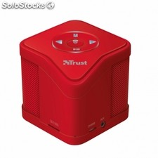 Altavoz trust urban muzo wireless bluetooth red - MP3 - micro sd - func. Manos