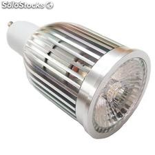 Alto brillante bombillo led cob gu10 5w