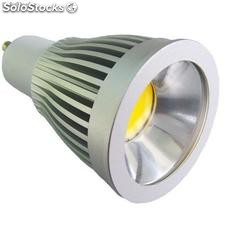 Alto brillante cob Led Gu10 5w