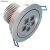 Alto brillante lampara downlight led regulable 5w
