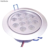 Alto brillante led para downlight regulable 12x1W