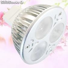 Alto brillante luces led mr16 6w
