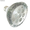 Alto brillante par30 led e27 regulable 7w
