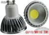 alto brillo Dimeable bombilla cob led gu10 5w
