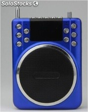 altoparlante portatil bocina MP3 USB TF FM radio bateria recargable K205