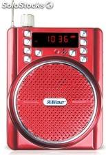 altoparlante portatil bocina MP3 USB TF FM radio bateria recargable K206