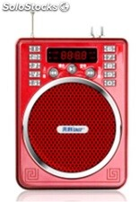 altoparlante portatil bocina MP3 USB TF FM radio bateria recargable K207
