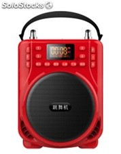 altoparlante portatil bocina MP3 USB TF FM radio bateria recargable K208