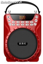 altoparlante portatil bocina MP3 USB TF FM radio bateria recargable K209
