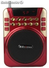 altoparlante portatil bocina MP3 USB TF FM radio bateria recargable K221