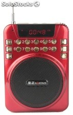 altoparlante portatil bocina MP3 USB TF FM radio bateria recargable K230