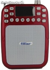 altoparlante portatil bocina MP3 USB TF FM radio bateria recargable K270