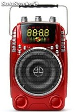 altoparlante portatil bocina MP3 USB TF FM radio bateria recargable Q800