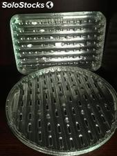 Aluminum Foil Food Grill Tray With Hole