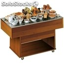 Ambient breakfast island buffet display - mod. tavolo253 - no hood - worktop
