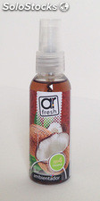 Ambientadores para coche spray Coco 50 ml.