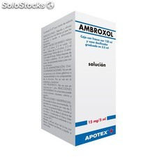 Ambroxol apotex 15 mg/5 ml jbe 200 ml