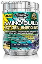 Amino Build Next Gen Energized, Concord Grape, 9.86 oz (280 g) - Muscletech