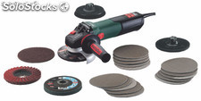 Amoladora metabo wev 15-125 quick inox set ( 125 mm)