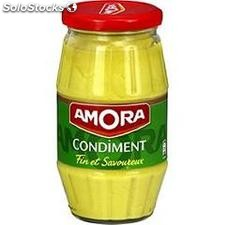 Amora condiments bocal 430 g